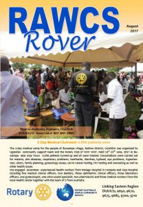 RAWCS Rover August 2017